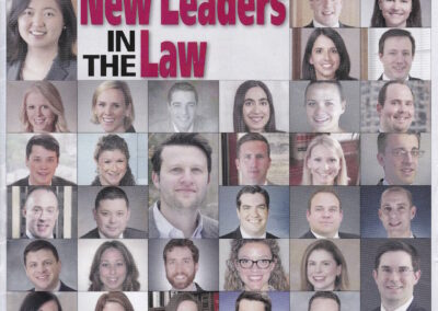 CT Law Tribune 50 New Leaders in the Law Cover